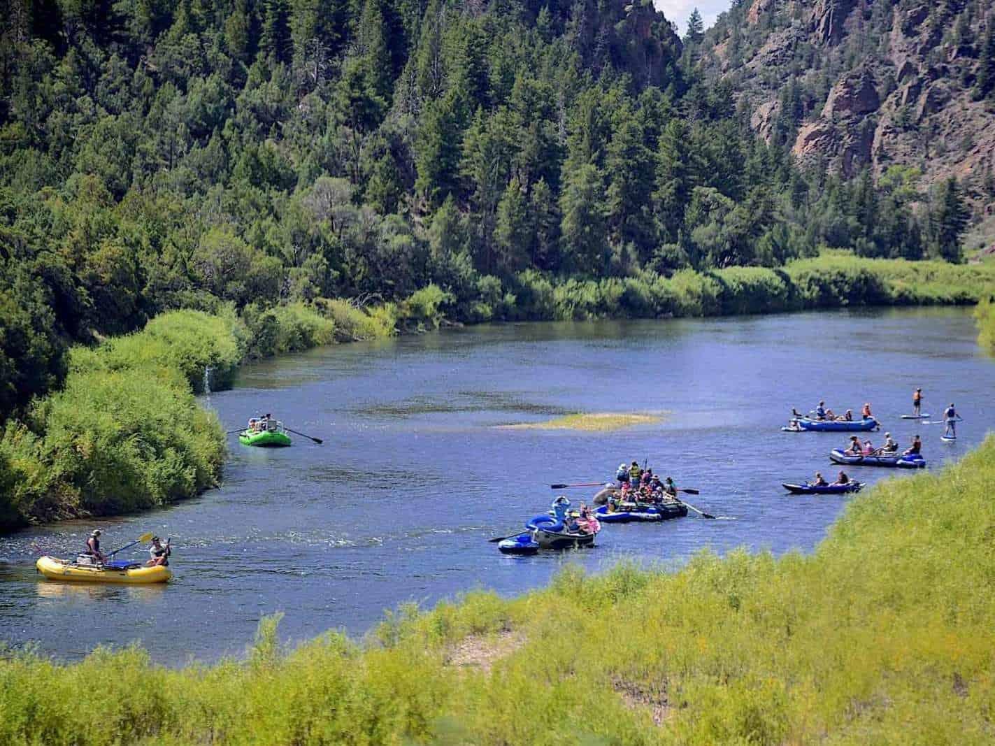 Party on Colorado River
