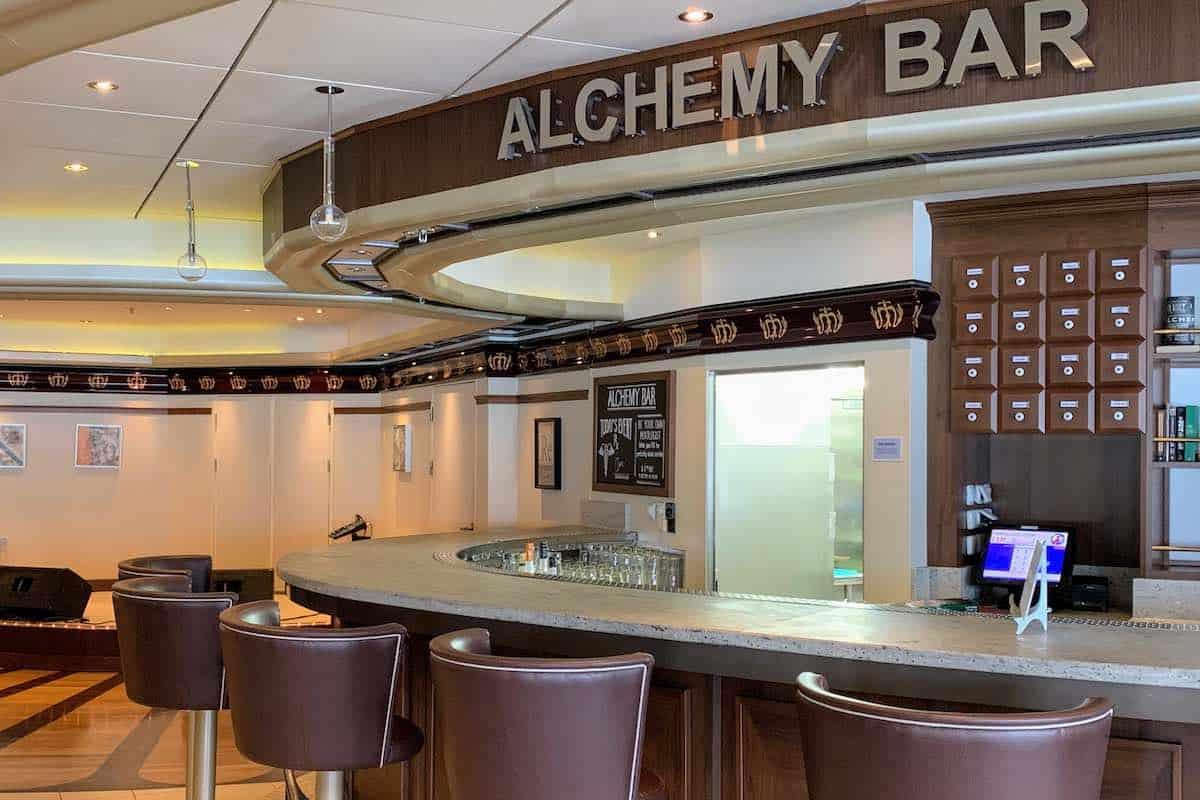 carnival legend alchemy bar
