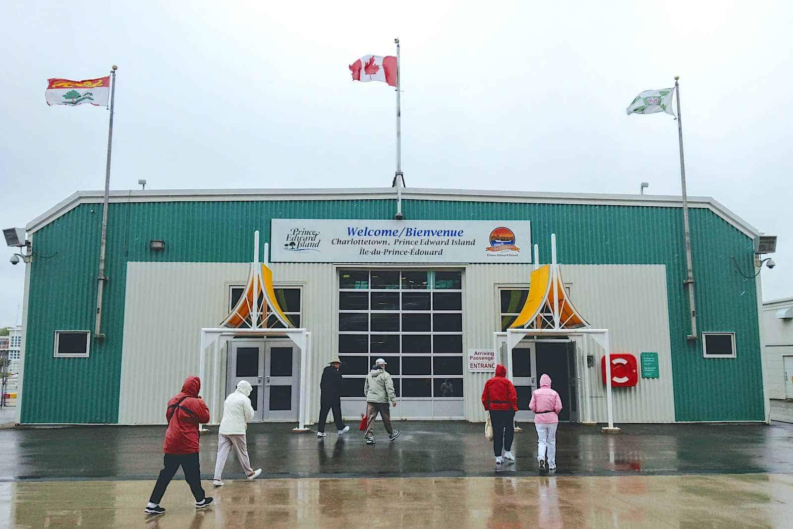 Charlottetown Prince Edward Island cruise port