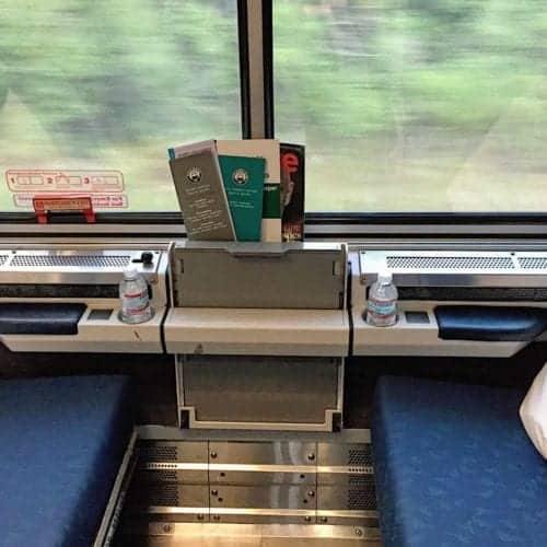 Amtrak Viewliner Roomette Daytime