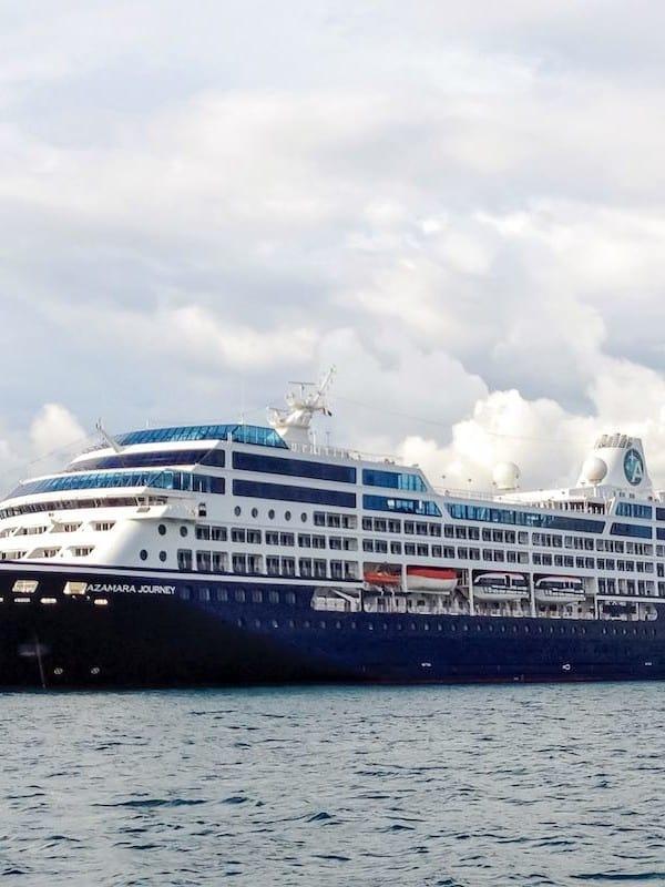 Azamara Journey, sister ship to newly-named Azamara Onward.