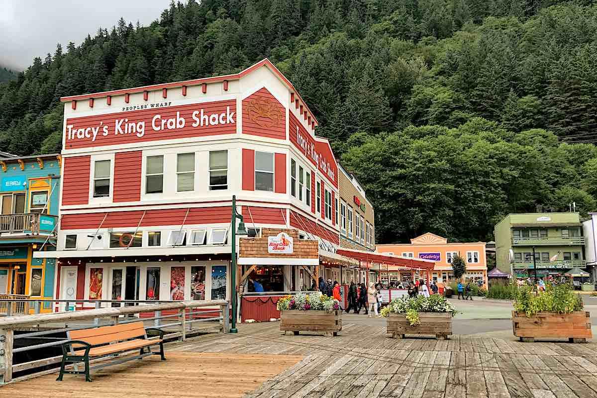 Tracy's King Crab Shack in Juneau, Alaska.