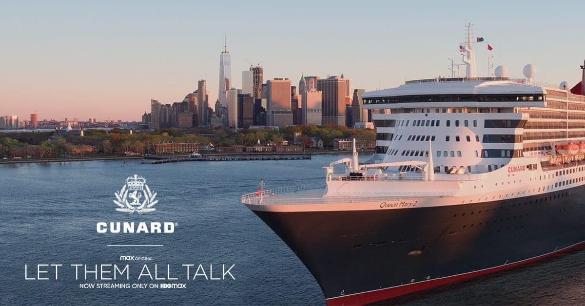 Queen Mary 2 Sweepstakes ship