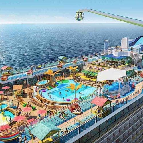 Odyssey of the Seas Pool Deck