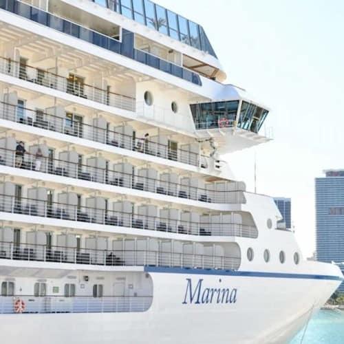 Oceania Marina in port of Miami