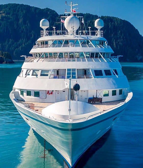 Windstar Cruises Star Legend Bow