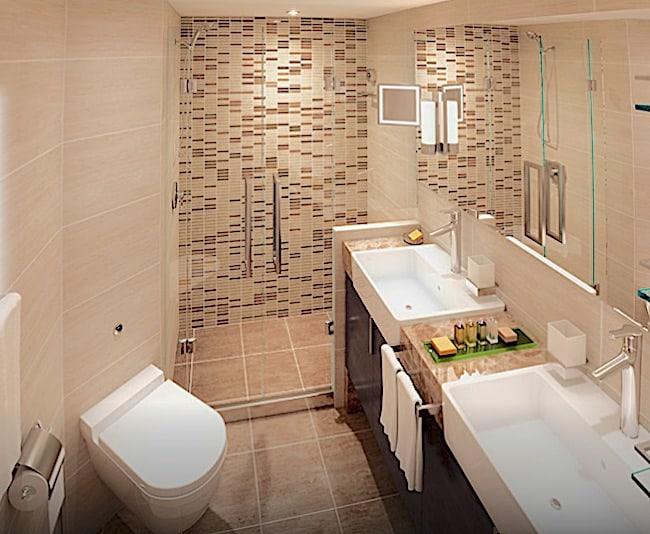 Windstar Cruises' Star Legend features brand new bathrooms.