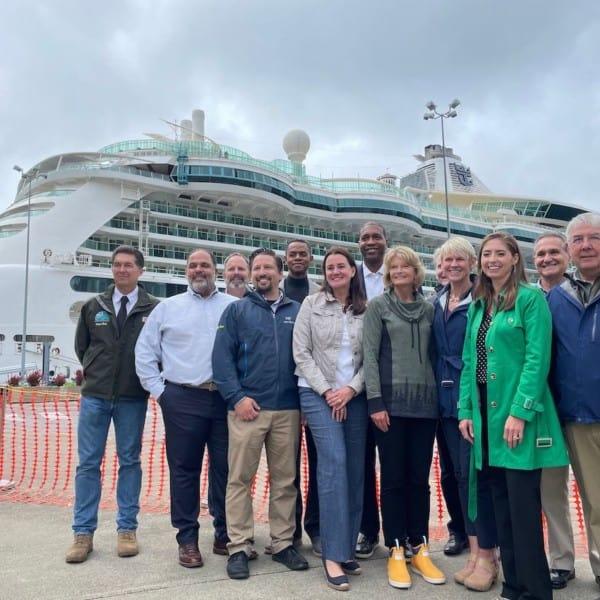Ketchikan Welcomes First Big Cruise Ship to Alaska Since 2019