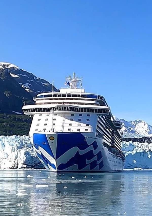 Majestic Princess in Alaska Glacier Bay
