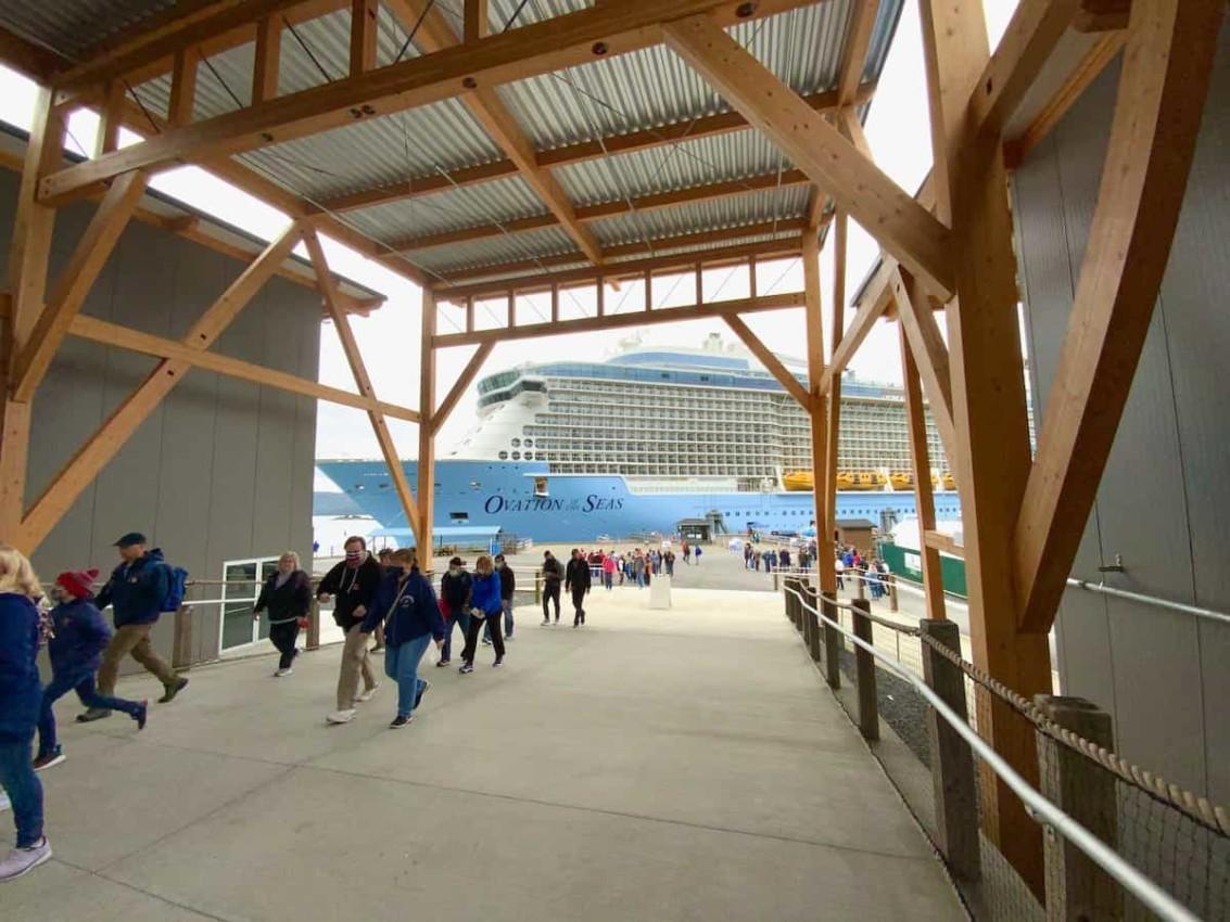 Sitka, Alaska dock expansion completed in time for Royal Caribbean passengers.