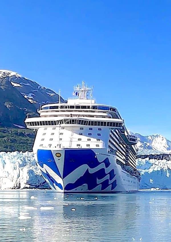 Princess Cruises Majestic Princess in Glacier Bay