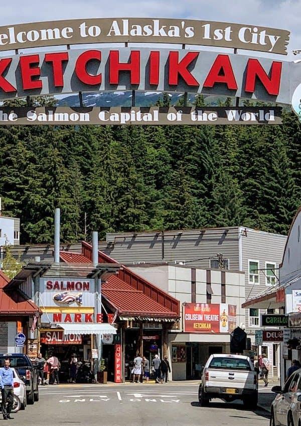 Downtown Ketchikan Banner